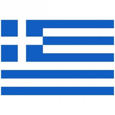 Vlag van griekenland mini formaat 60 x 90 cm
