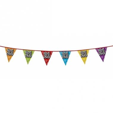 Vlaggenlijn 21 jaar feestje