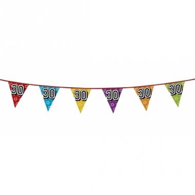 Vlaggenlijn 30 jaar feestje