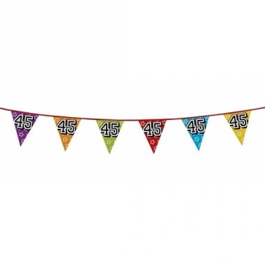 Vlaggenlijn 45 jaar feestje