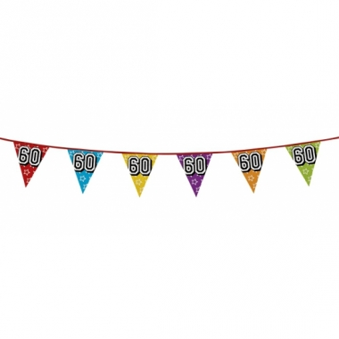 Vlaggenlijn 60 jaar feestje