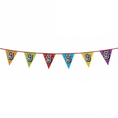 Vlaggenlijn 9 jaar feestje