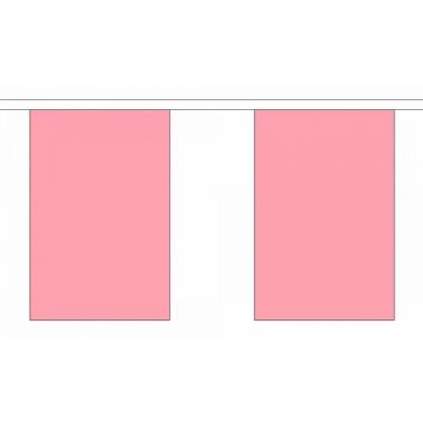 Vlaggenlijn roze deluxe