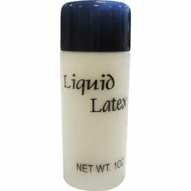 Vloeibare latex make up