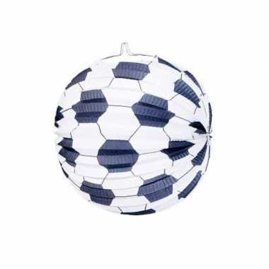 Voetbal lampion van papier