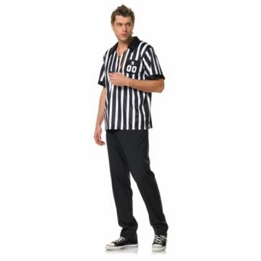 Voetbal scheidsrechter kostuum heren