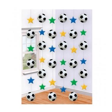 Voetbal versiering hangdecoratie