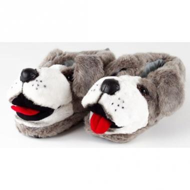 Volwassenen dieren pantoffels hond