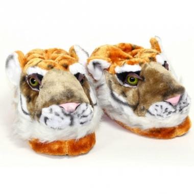 Volwassenen dieren pantoffels tijger