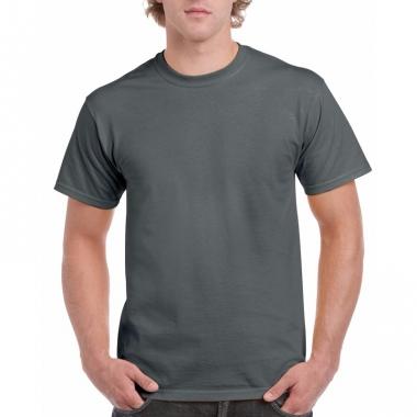 Voordelig donkergrijs t-shirt voor volwassenen