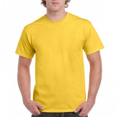Voordelig geel t-shirt voor volwassenen
