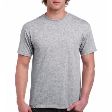 Voordelig grijs t-shirt voor volwassenen