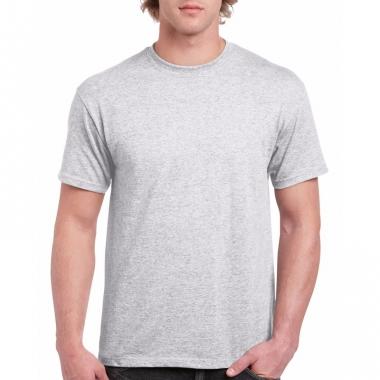 Voordelig lichtgrijs t-shirt voor volwassenen