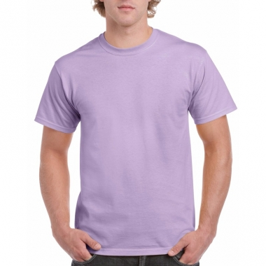 Voordelig lilapaars t-shirt voor volwassenen
