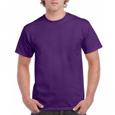 Voordelig paars t-shirt voor volwassenen