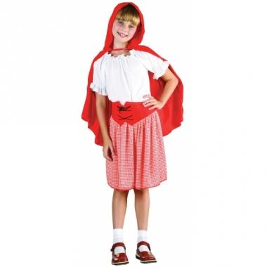 Voordelig roodkapje kostuum voor meisjes