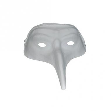 Voordelig snavelmasker wit