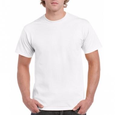 Voordelig wit t-shirt voor volwassenen