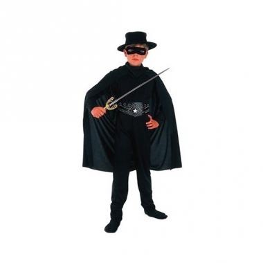 Voordelig zwarte held kostuum voor kinderen