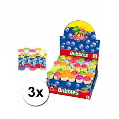 Voordelige bellenblaas 3 x