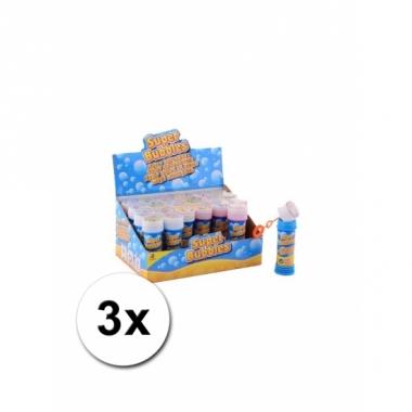 Voordelige bellenblaas 50 ml 3x