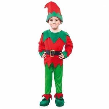Voordelige kerst elf kostuum voor een kind