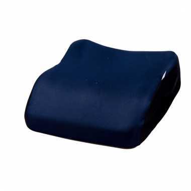 Voordelige kinder stoelverhoger navy blauw