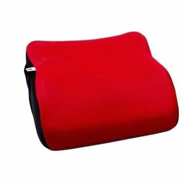 Voordelige kinder stoelverhoger rood 38 cm