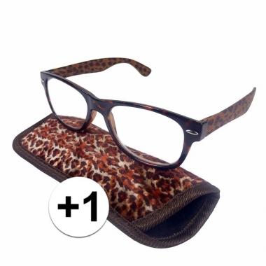 Voordelige panter leesbril +1