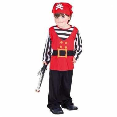 Voordelige piraten kostuum voor een peuter