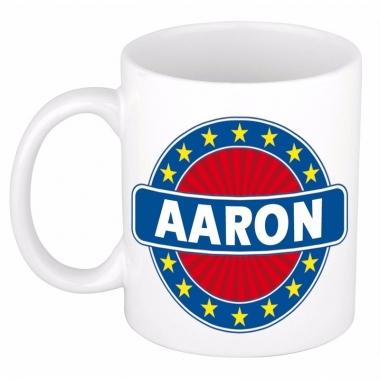 Voornaam aaron koffie/thee mok of beker
