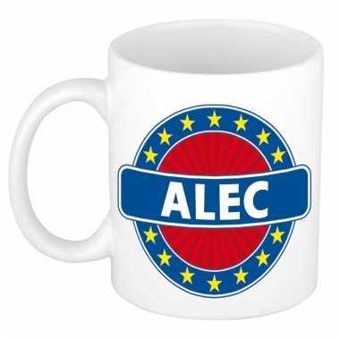 Voornaam alec koffie/thee mok of beker