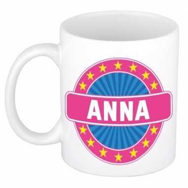 Voornaam anna koffie/thee mok of beker