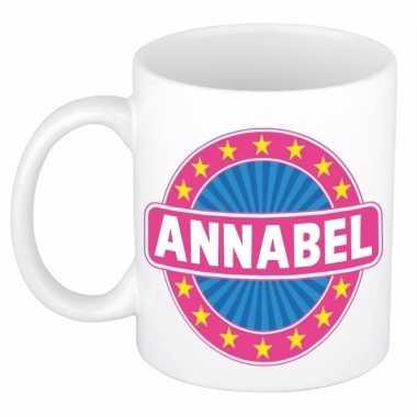 Voornaam annabel koffie/thee mok of beker