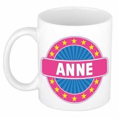 Voornaam anne koffie/thee mok of beker