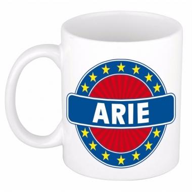 Voornaam arie koffie/thee mok of beker
