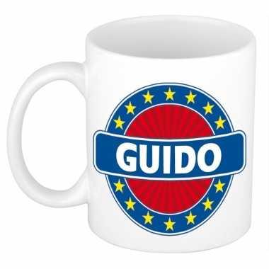 Voornaam guido koffie/thee mok of beker