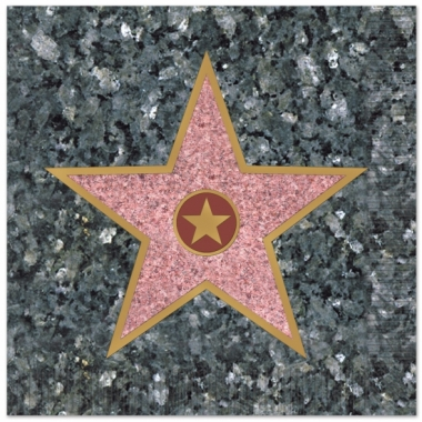 Walk of fame servetten 25 x 25 cm