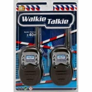 Walky talkie speelgoed setje bereik 40 meter