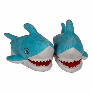 Warme haaien pantoffels voor kinderen