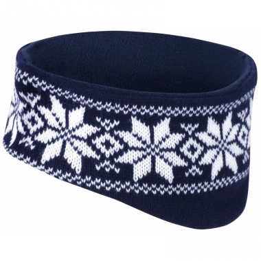 Warme haarband nordic navy