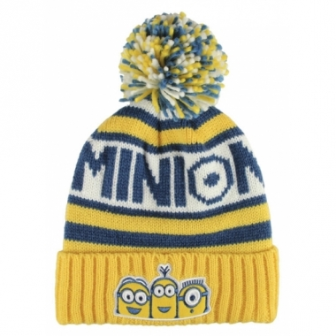 Warme wintermuts minions voor kids