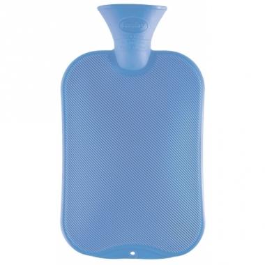 Warmtekruik licht blauw 2 liter