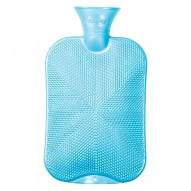 Warmwaterkruik blauw 2.0l