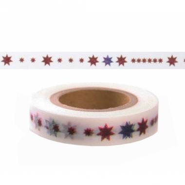 Washi plakband met ster