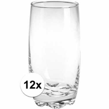 Water glazen 12 stuks
