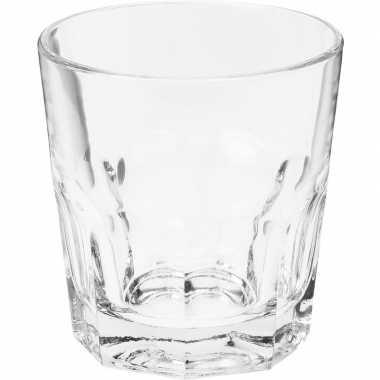 Water glazen 4x stuks 250 ml