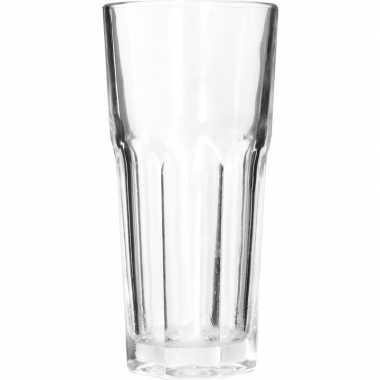Water glazen 4x stuks van 280 ml