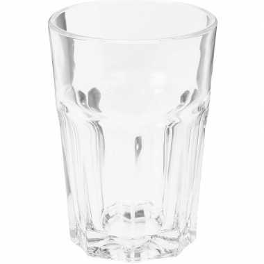 Water glazen 4x stuks van 360 ml