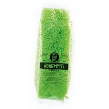Water oplosbare confetti groen